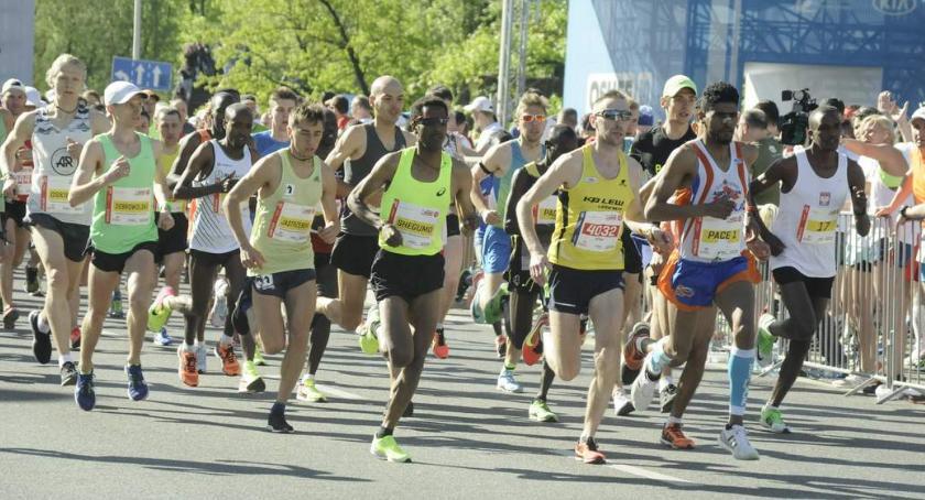Biegi - maratony, Orlen Warsaw Marathon [ZDJĘCIA] - zdjęcie, fotografia