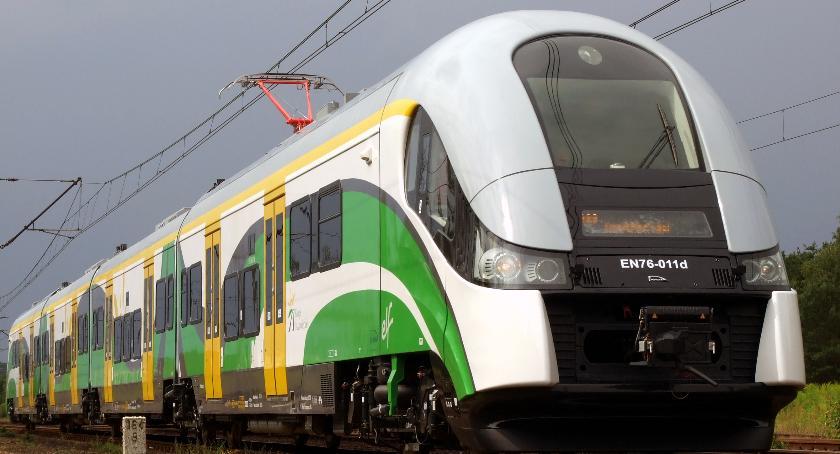 Koleje Mazowieckie, Warszawy prosto morze pociąg Słoneczny powróci wakacje - zdjęcie, fotografia