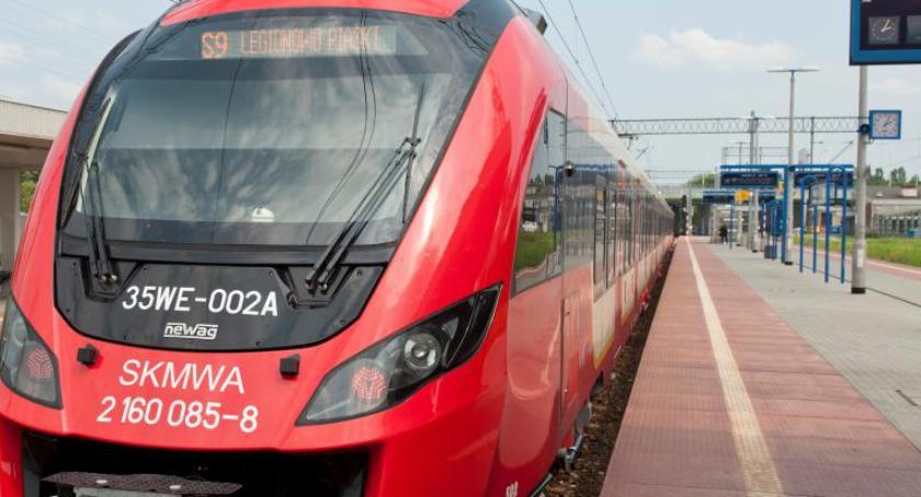Koleje Mazowieckie, Remont torów pociągi autobusy zmienionych trasach - zdjęcie, fotografia