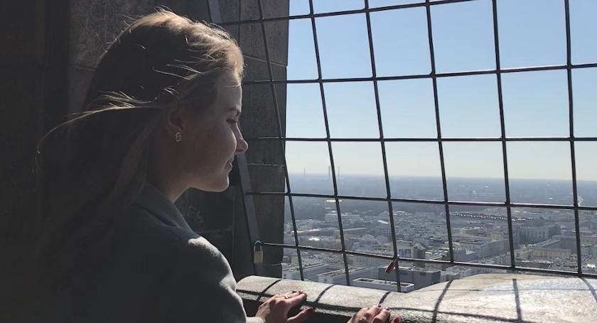 Ludzie PKiN, Beata opowiada swoich wrażeniach dotyczących - zdjęcie, fotografia