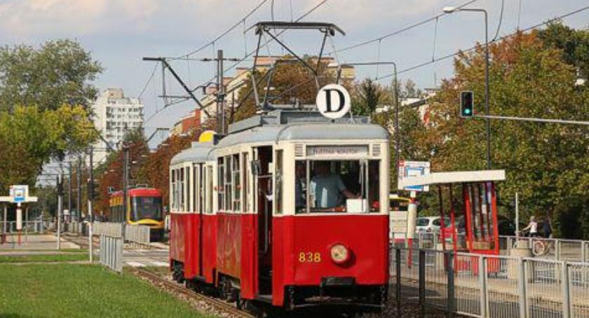 Tramwaje, Zabytkowe tramwaje okazji Dziecka - zdjęcie, fotografia