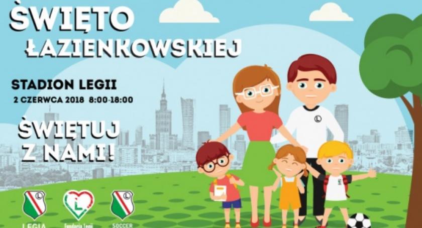 Imprezy, Wydarzenia, sobotę Święto Łazienkowskiej Czyli wielki piknik rodzinny Legii - zdjęcie, fotografia