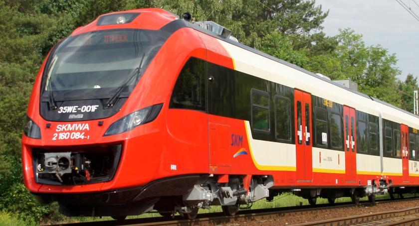 Koleje Mazowieckie, Potrącenie człowieka awaria gigantyczne opóźnienia kolei - zdjęcie, fotografia
