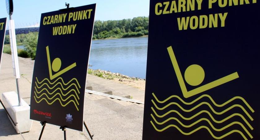 Bezpieczeństwo, czarne punkty Mazowszu - zdjęcie, fotografia