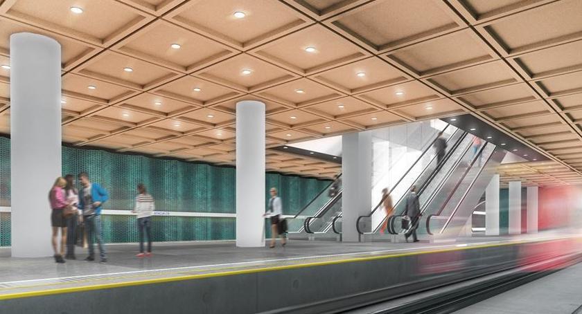 Metro, Dzień dobrych wiadomości linii metra - zdjęcie, fotografia