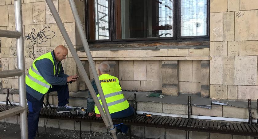 PKiN zaprasza, Rozpoczął remont tarasu widokowego [ZDJĘCIA] - zdjęcie, fotografia