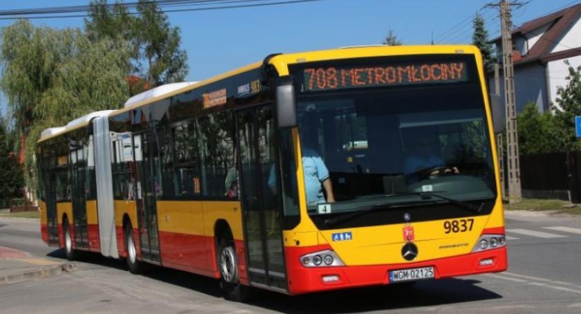 Transport publiczny - komunikacja, Izabelin Konstancin Jeziorna strefie września - zdjęcie, fotografia