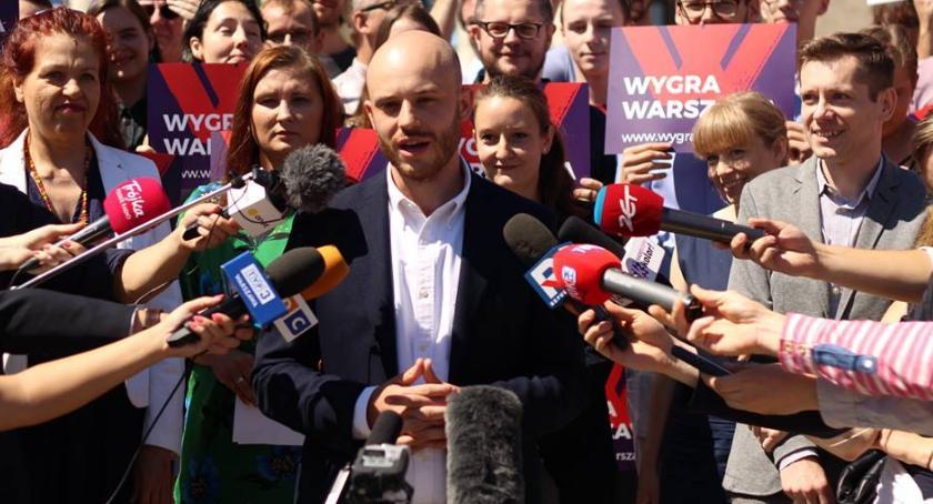 Wybory samorządowe 2018, Śpiewak kandydatem prezydenta Warszawy - zdjęcie, fotografia