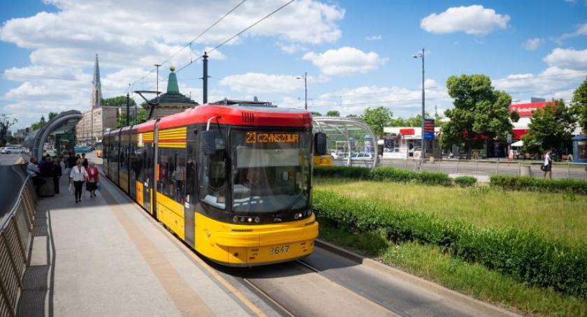 Transport publiczny - komunikacja, Przemarsz mostem Śląsko Dąbrowskim Będą utrudnienia - zdjęcie, fotografia