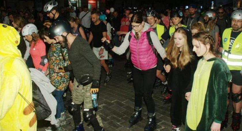 Imprezy, Wydarzenia, NightSkating Warszawa sobotę! - zdjęcie, fotografia