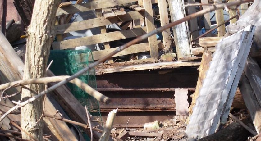 NEWS, Ponad złomu gruzu działce - zdjęcie, fotografia