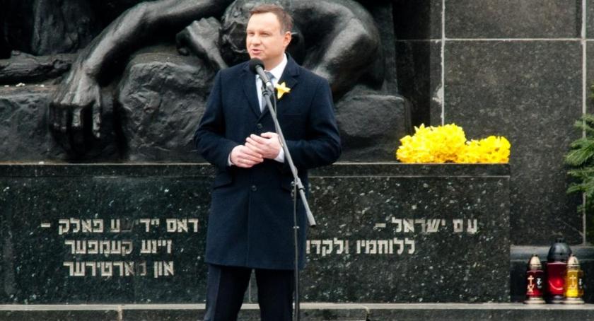 Historia Warszawy, Obchody rocznicy powstania getcie warszawskim [zdjęcia] - zdjęcie, fotografia