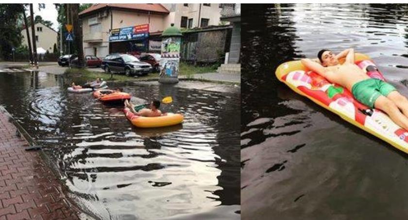NEWS, pontonem Mazury Wystarczy pojechać Otwocka [ZDJĘCIA] - zdjęcie, fotografia