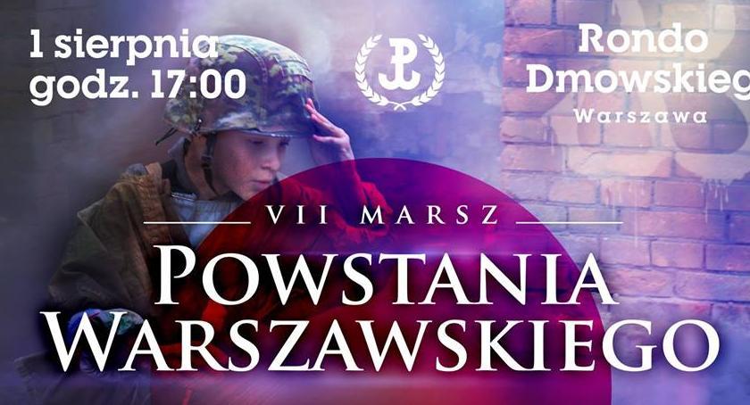 NEWS, Marsz Powstania Warszawskiego dzisiaj - zdjęcie, fotografia