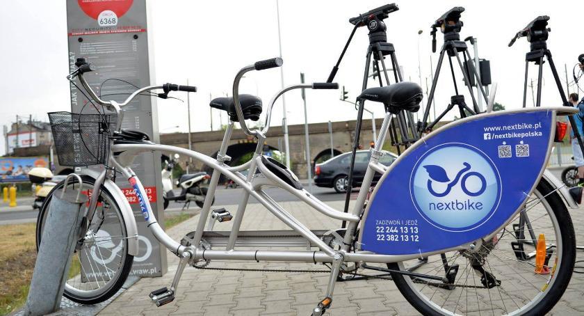 Rower, stacji rowerów Veturilo obchodzi urodziny! - zdjęcie, fotografia
