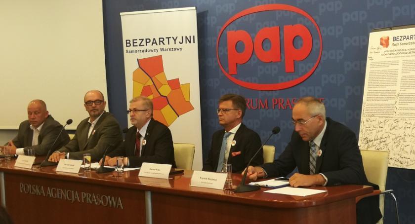 Wybory samorządowe 2018, oficjalnie Sławomir Antonik kandydatem prezydenta Warszawy - zdjęcie, fotografia