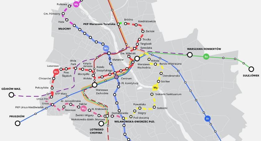 Wybory samorządowe 2018, Jakim teraz Trzaskowski obiecuje linie metra Warszawie - zdjęcie, fotografia