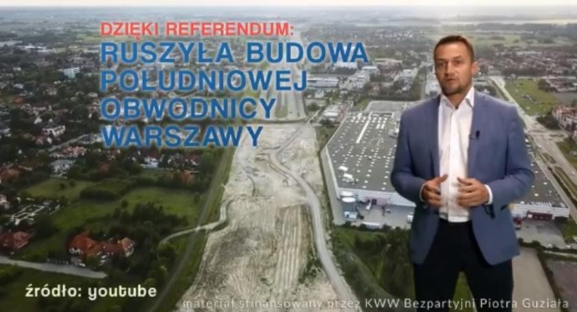 Wybory samorządowe 2018, Piotr Guział swoich konkurentów Gdzie byliście [FILM] - zdjęcie, fotografia