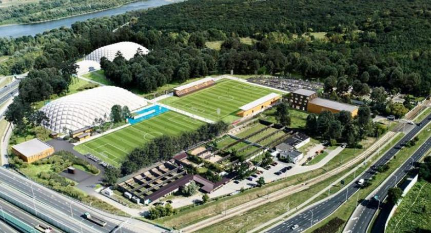 Piłka nożna, będzie wyglądał ośrodek Hutnika Warszawa Zobaczcie wizualizację - zdjęcie, fotografia