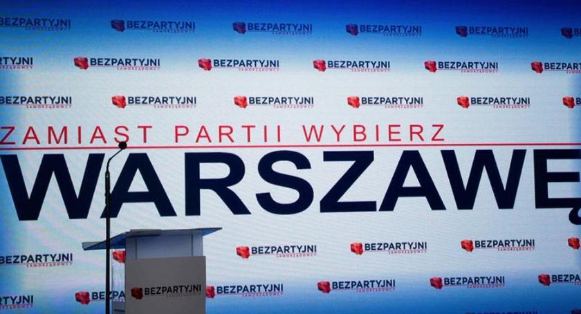 Wybory samorządowe 2018, Bezpartyjni komentują rezygnację Piotra Guziała kandydowania prezydenta Warszawy - zdjęcie, fotografia