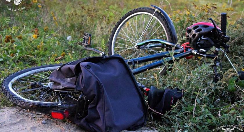 Wypadki, Rowerzystka potrącona przez ciężarówkę Kolejny tragiczny wypadek [ZDJĘCIA] - zdjęcie, fotografia