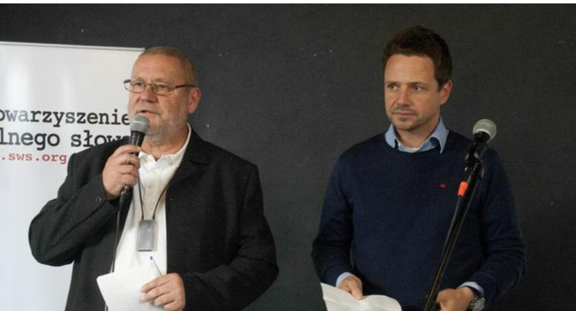 Wybory samorządowe 2018, Twarde deklaracje Trzaskowskiego Tylko dlaczego dało zrobić przez - zdjęcie, fotografia