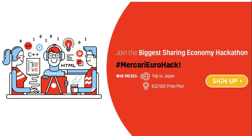 Wystawy, Największy hackathon Warszawie! #MercariEuroHack - zdjęcie, fotografia