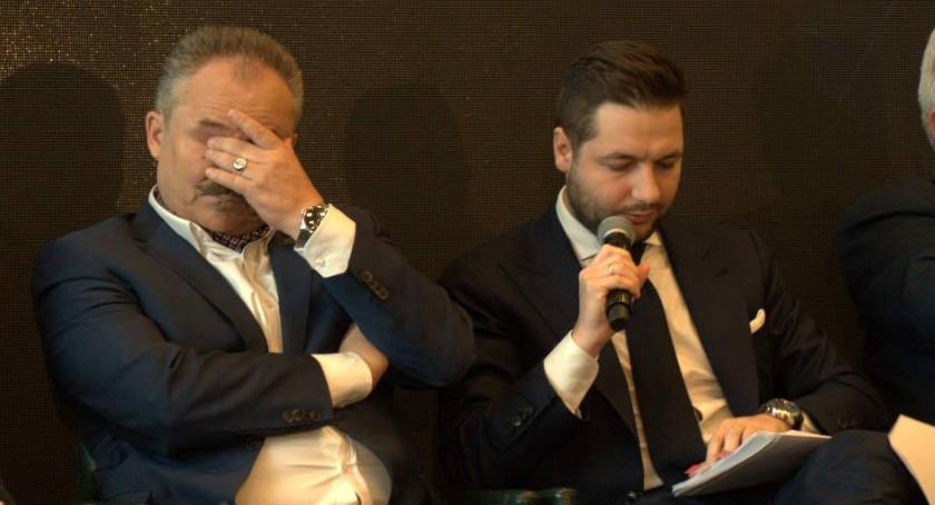 Wybory samorządowe 2018, Sławomir Antonik Patryk kłamał podczas debaty stadionie Legii - zdjęcie, fotografia