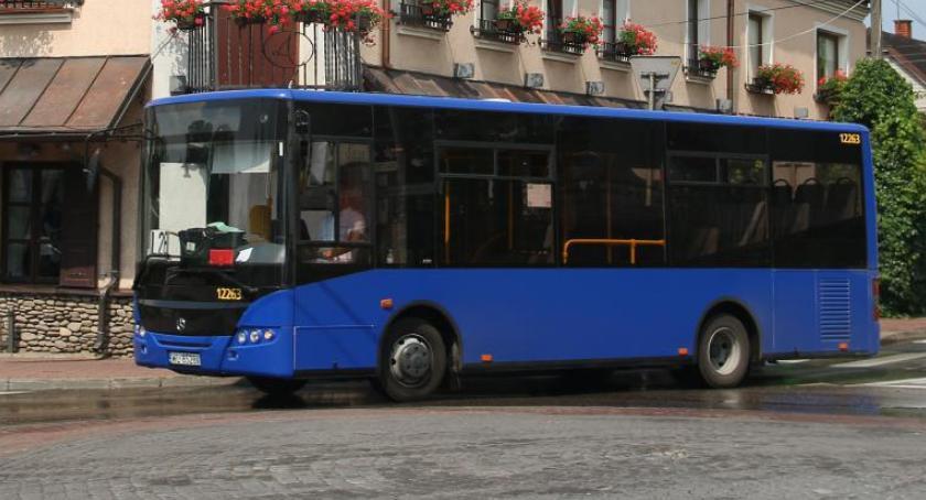 Autobusy, Linia wczoraj wyjechała trasę dzisiaj przyczyn technicznych zawieszona - zdjęcie, fotografia