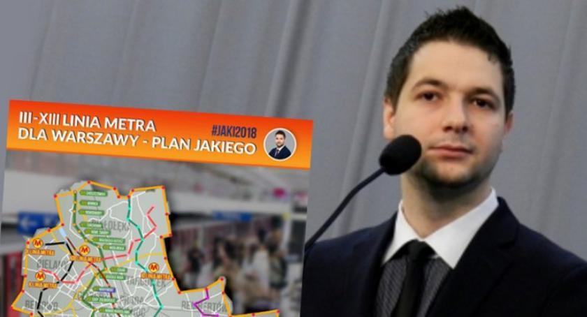 Jeszcze raz o metrze planowanym przez Patryka Jakiego i budżecie miasta: fakty, mity i kłamstwa