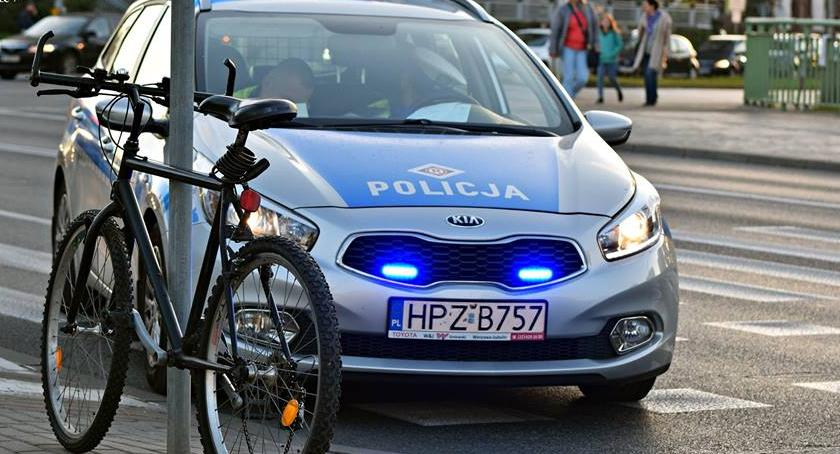 Wypadki, Potrącenie rowerzysty ścieżce rowerowej [ZDJĘCIA] - zdjęcie, fotografia