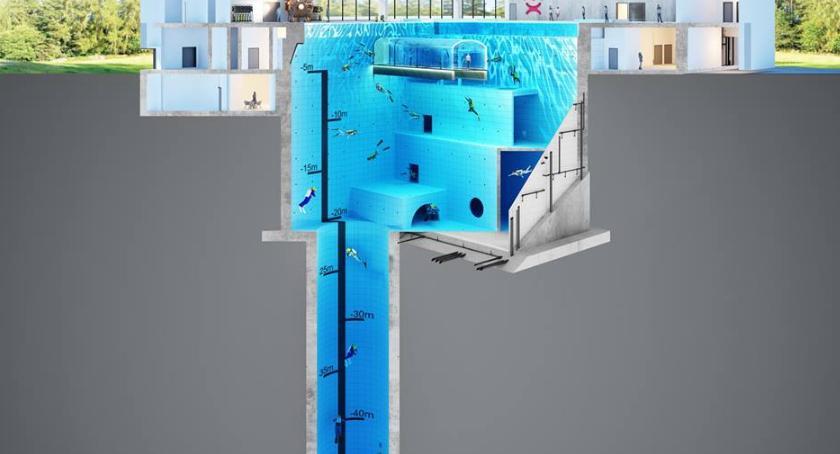 NEWS, Najgłębszy świecie basen nurkowy powstaje Warszawą [WIZUALIZACJE] - zdjęcie, fotografia