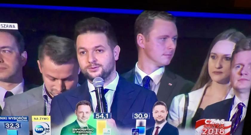 Wybory samorządowe 2018, Piotr Guział latach żegna samorządem Bilans zysków strat wsparciu Patryka Jakiego - zdjęcie, fotografia