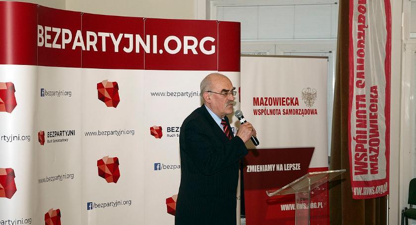 Wybory samorządowe 2018, obroniło Mazowsze Bezpartyjni radnym Sejmiku - zdjęcie, fotografia
