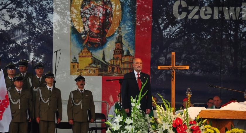 Historia Warszawy, Uroczystości okazji Czerwca'76 Ursusie powstania - zdjęcie, fotografia