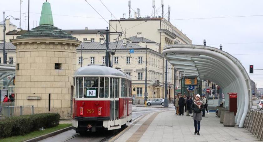 Transport publiczny - komunikacja, Niepodległość Specjalna linia tramwajowa listopada - zdjęcie, fotografia