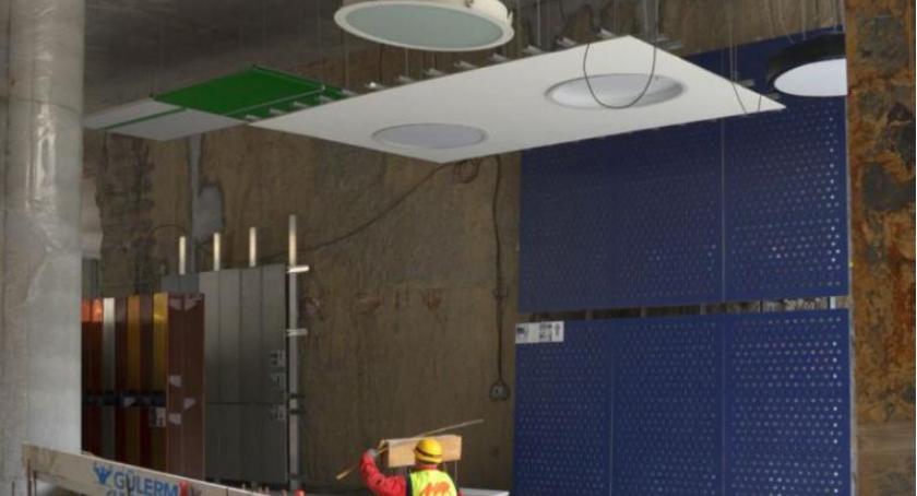 Metro, jakich kolorach będą wolskie stacje metra - zdjęcie, fotografia