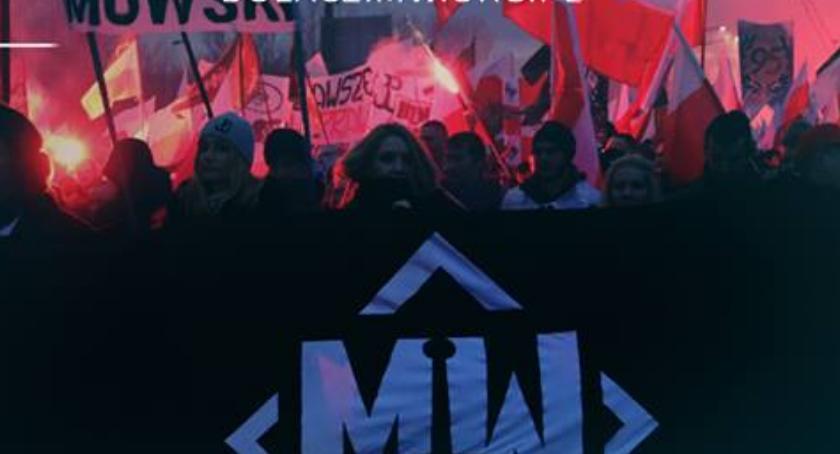 NEWS, Miasto zakazało marszu narodowcom reakcja marsz spontaniczne zgromadzenie - zdjęcie, fotografia