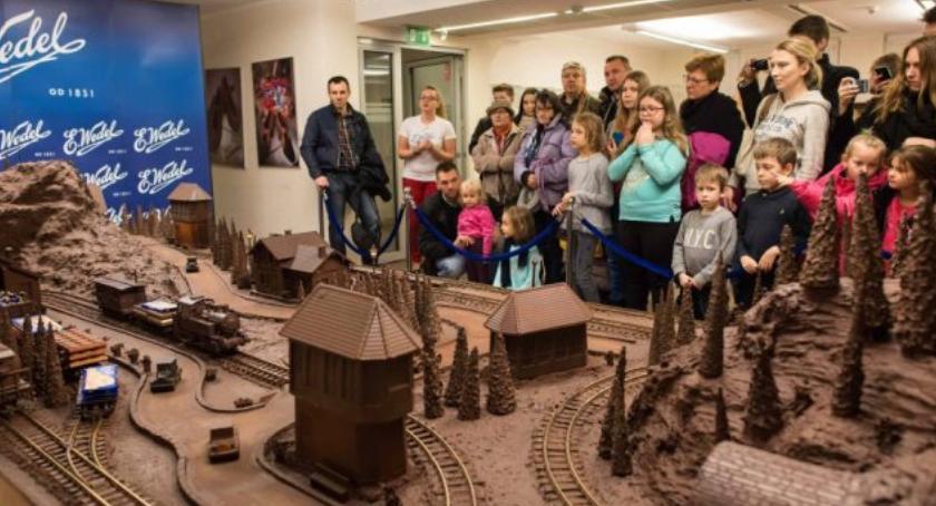 Historia Warszawy, Czekoladowy weekend Wedlu - zdjęcie, fotografia