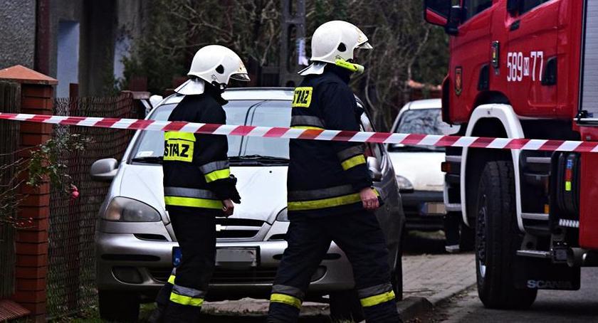 Bezpieczeństwo, Uszkodzenie magistrali gazowej [ZDJĘCIA] - zdjęcie, fotografia