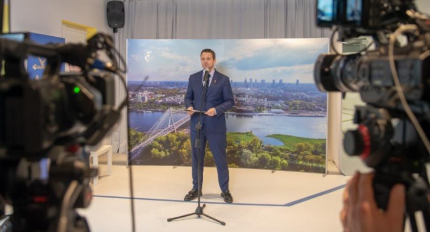Samorząd, Rafał Trzaskowki ambitne plany przyszły zapowiada prezydent - zdjęcie, fotografia