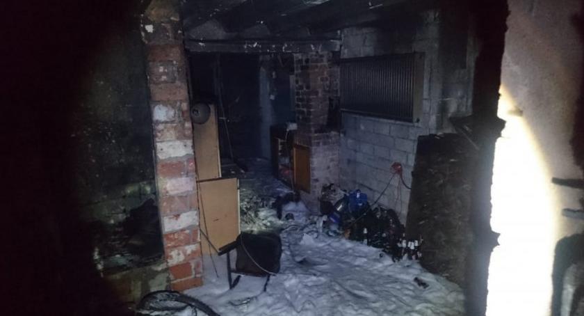 Pożary, kobiety uratowane płonącego Groźny pożar Nachyłkowej [ZDJĘCIA] - zdjęcie, fotografia