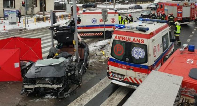 Wypadki, Tragedia krajowej Jedna osoba zginęła jedna ranna - zdjęcie, fotografia