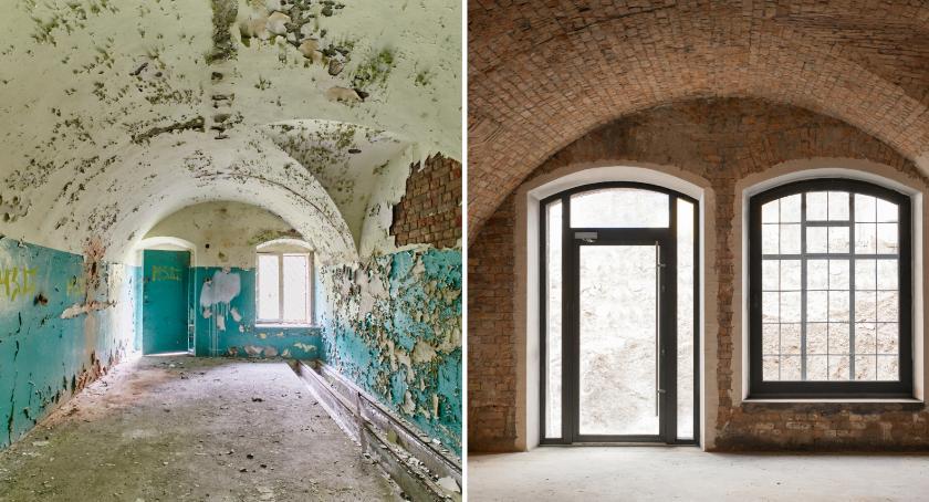 Historia Warszawy, odzyskać miejsce historią Szczegóły metamorfozy letniego fortu - zdjęcie, fotografia