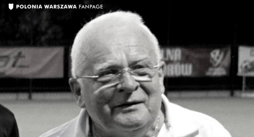 Piłka nożna, Zmarł Stanisław Kralczyński jedna legend Polonii Warszawa - zdjęcie, fotografia