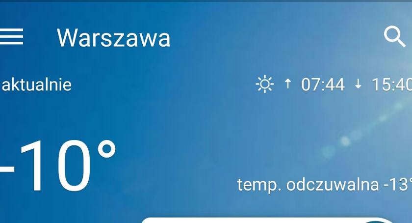 Prognoza pogody, Prawie stopni Białołęce Okęcie niemal dalej pogodą - zdjęcie, fotografia