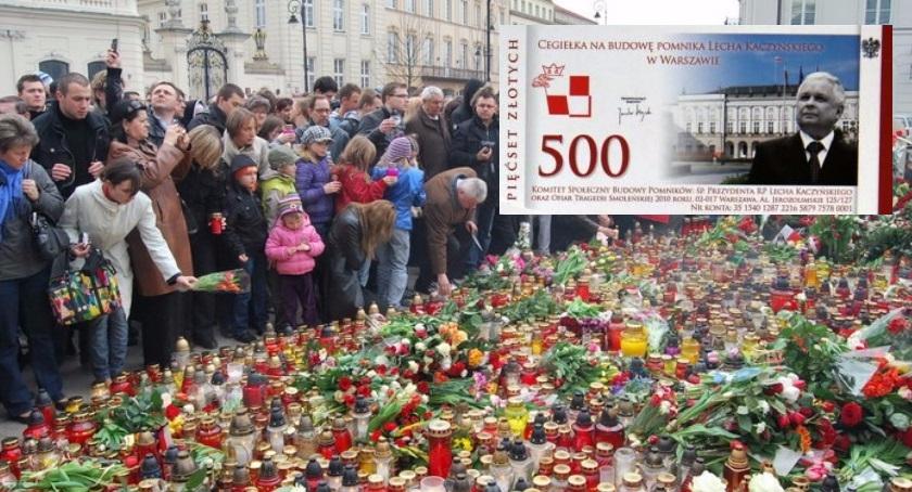 Wspomnienie, Ruszyła zbiórka pieniędzy pomnik Ofiar Tragedii Smoleńskiej - zdjęcie, fotografia