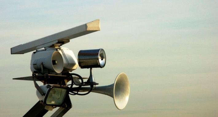 Bezpieczeństwo, Powstańcze syreny radnego Gugulskiego - zdjęcie, fotografia