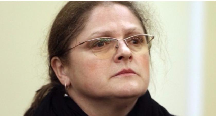 Polityka, Krystyna Pawłowicz prezent Krystynie Jandzie - zdjęcie, fotografia