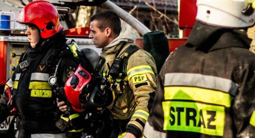 Pożary, Śmierć budce ochrony parkingu Pożar Madalińskiego - zdjęcie, fotografia